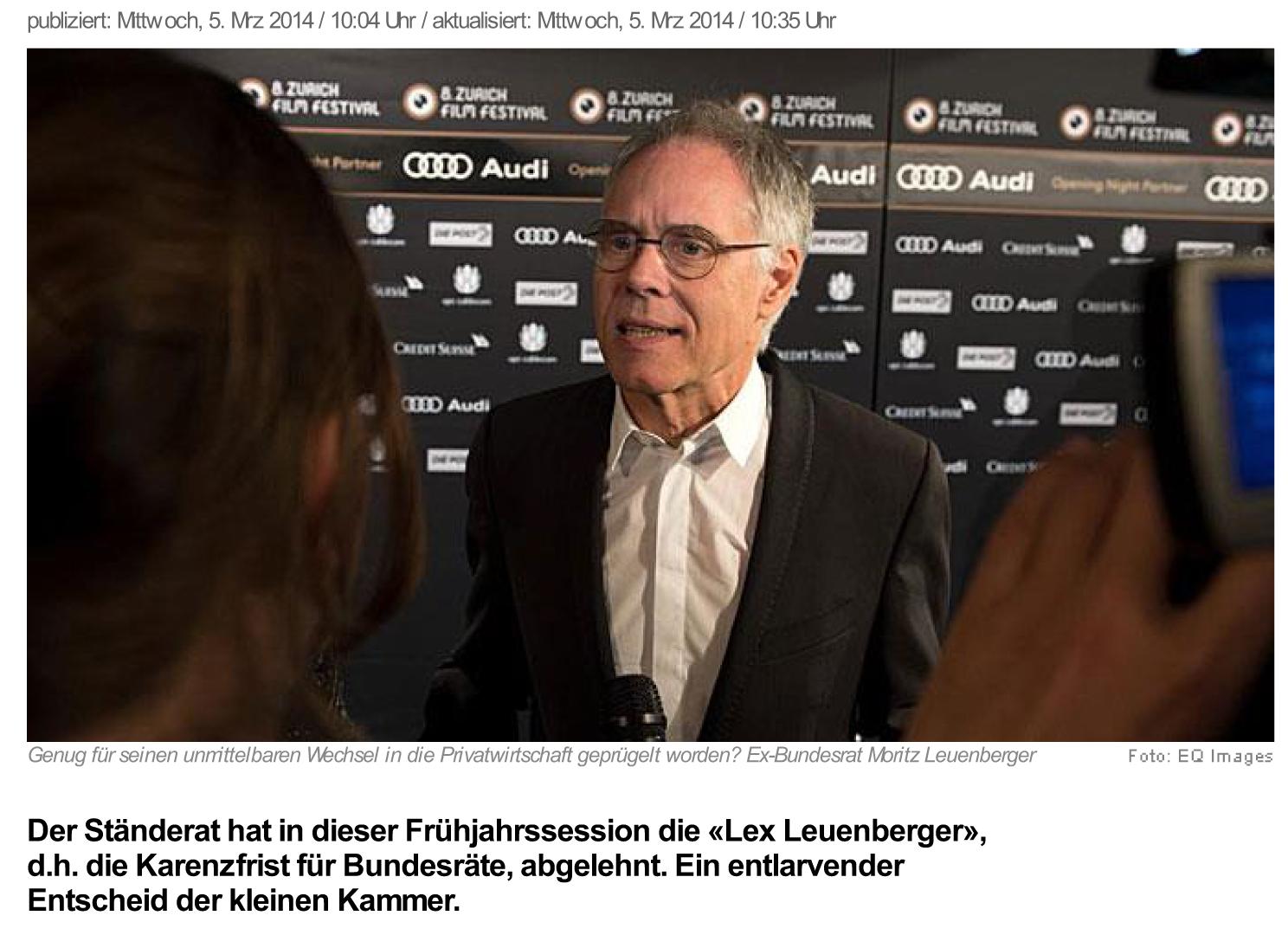news.ch - Anleitung zur Korruption. Von Regula Stämpfli - Dschu