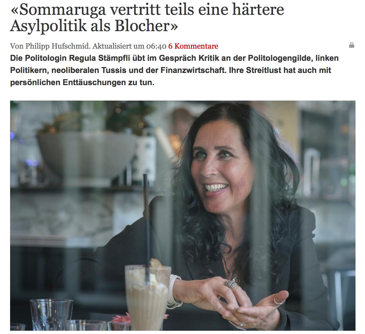 Berner Zeitung Interview